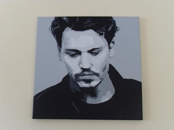 Johnny Depp by shazlar